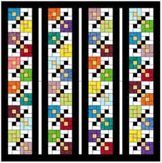 Scrappy Domino's Quilt Pattern  PDF Only