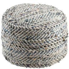 Sittpuff trasmatta, Åhlens Outdoor Furniture, Outdoor Decor, Ottoman, Crochet Hats, Living Room, Rugs, Inspiration, Dreams, Home Decor