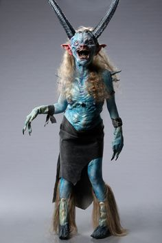 wish the animatronics had worked! Spotlight Challenge Gallery When Hell Freezes Over Zombie Halloween Makeup, Scary Halloween Costumes, Halloween Face, Zombie Makeup, Scary Makeup, Face Off Makeup, Fx Makeup, Aliens, Face Off Syfy