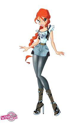Winx club Bloom outfit