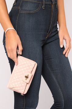 Queen Bee Wallet - Blush