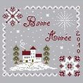 Free Bonne Année 2010 - Jura Point de Croix