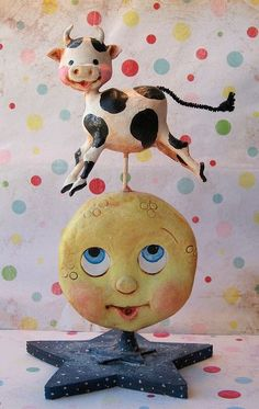 The Cow Jumped Over the Moon Handmade goodies on the way to Glitterfest in Santa Ana, CA!: