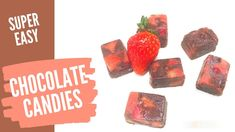 CHOCOLATE COVERED STRAWBERRIES, cook with me Cooking Box, Chocolate Covered Strawberries, Super Easy, Strawberry, Make It Yourself, Music, Desserts, Food, Chocolate Coated Strawberries