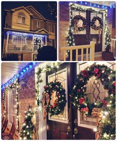 Our outdoor Christmas lights