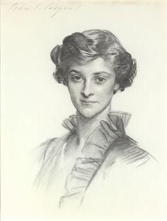 from bklyncontessa :: via Adelson Galleries - John Singer Sargent - Portrait of Ruth Draper