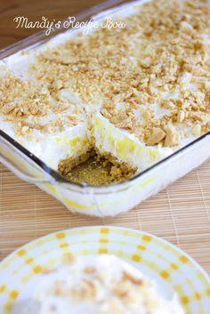 Mandy's Recipe Box: Lemon Heavenly Oreo Dessert