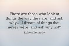 Dreams and Success Quote by Robert Kennedy #quotes