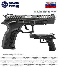 Grand Power - X-Calibur 9 mm