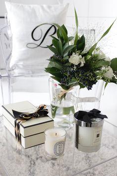 Weekend flowers | Jo Malone | Diptyque | Home Vanilla interior