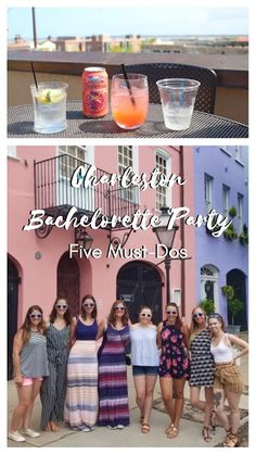 Bachelorette Party in Charleston, SC: Five Must-Dos
