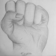 Hand project for art class. -2016