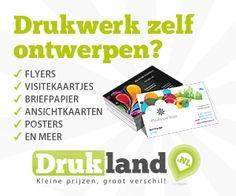 Drukland-kortingscode van 5% - goedkoop drukwerk Poster, Writing Paper, Posters, Billboard