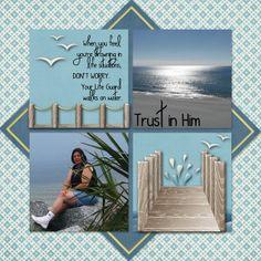 Trust in Him - Scrapbook.com