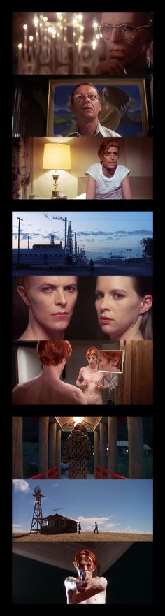 The Man Who Fell to Earth (1976) ● Director - Nicolas Roeg ● Cinematographer - Anthony B. Richmond