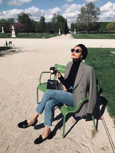 5 French Outfit Formulas That Are Simple and Chic | Who What Wear French Girl Style, French Girls, Paris Outfits, Chic Outfits, Work Outfits, French Outfit, Ootd, Blazer Fashion, Hijab Fashion