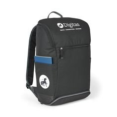 d3115cac0dab Black All Day Computer Backpacks Black personalized with your custom  imprint or logo. Fits laptops