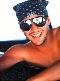 Keanu Reeves.  Not crazy about the sunglasses and do-rag, but that smile is fantastic!