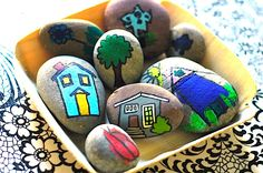 Create Awesome DIYs with Painted Rocks