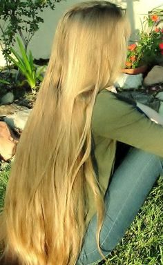 Long Blond, Long Dark Hair, Beautiful Long Hair, Gorgeous Hair, Lady Lovely Locks, Waist Length Hair, Really Long Hair, Rapunzel Hair, Long Hair Video