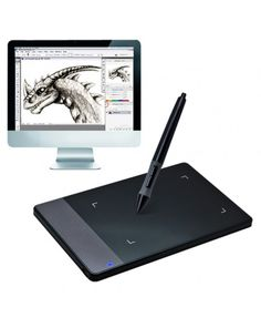 HUION 420 Portable Smart x inch Stylus Digital Tablet Signature Board with Digital Pen Digital Tablet, Stylus, Consumer Electronics, Drawing Board, China, Style, Porcelain Ceramics, Porcelain