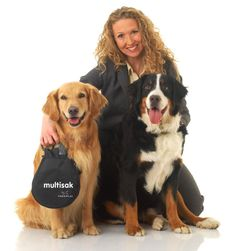 If you were to imagine a fashionable purse that is made for walking your dog, the multitask would be your solution. The pouch attaches to almost any leash and has two separate compartments. One that enables you to carry your dog's toys, treats, baggies, cell phone, and hand sanitizer. On the other side is a compartment to store your doggy droppings when a trash can isn't near by. Stylish, Comprehensive and Cost Effective.     $24.95 Pre-sale     http://www.multisak.com/shop_for_multisak.asp