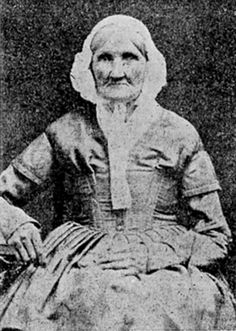 Hannah Stilley, born 1746, photographed in 1840. Probably the earliest born individual captured on film.