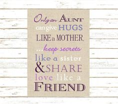 poems for aunts from nieces   AUNT POEMS   places in my ...