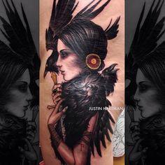 Instagram photo by @justinhartmanart via ink361.com #tattoo #traditionaltattoo