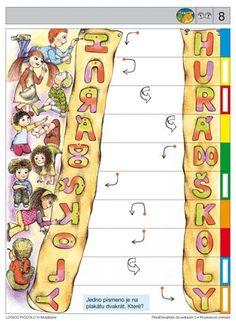 Soubor Logico Piccolo - Prostorové vnímání Předčtenářské dovednosti 2Vhodné pro děti od 5 - 8 let• Prostorové vnímání*karta 1 až 4určování polohy části obrázku vporovnání sjinými částmi •