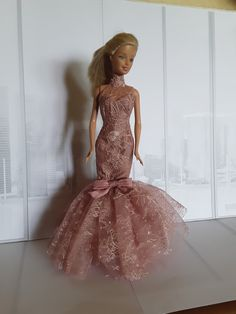 Barbie Lace Gown Barbie, Gowns, Formal, Lace, Diy, Style, Fashion, Creative Crafts, Creativity
