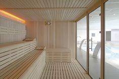 La sauna finlandesa línea Selecte de Inbeca Wellness Equipment