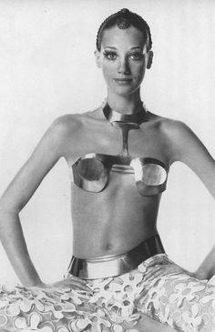 Marisa Berenson by Irving Penn, 1968.
