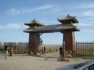 The Jade Gate marks the beginning of the North Route of the Silk Road around the Taklamakan Desert leading through the Turpan Oasis, and eventually to Kashgar.