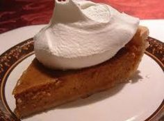 Susan's Perfect Pumpkin Pie