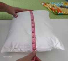 Easy Envelope Pillow Covers