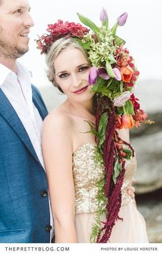 SWOON! We simply adore this engagement session! | Photographer: Louise Vorster Photography | Flowers : Anli Wahl Flowers & Event Styling | Model : Lindie Meyer | Hair & Make-Up : Minke du Plessis | Cake : The Birdcage | Videographer : Silent Video Productions | Suit : Moi Styling |