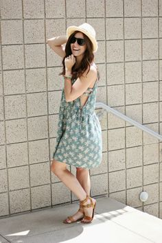 The Brunette One   My Style: Cut-Out Dress #Swell #TheBrunetteOne