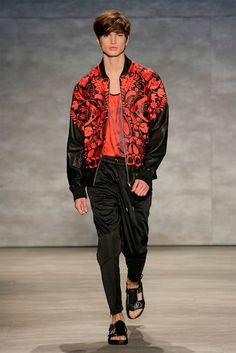 SKINGRAFT unveiled its Spring/Summer 2015 collection during New York Fashion Week.