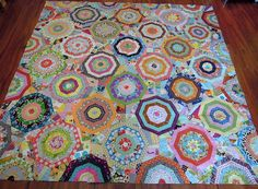 """Maple Leaf Rag Quilt Top---From The Book """"Material Obsession 2"""" by Sarah Fielke"""