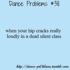 Or when you're in the grocery store...people think you're a freak...