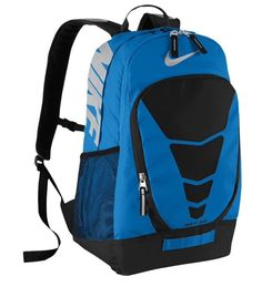 84f40c4f74951e Nike Max Air Vapor Backpack BA4883-490 Blue Black 34 Liters  Nike