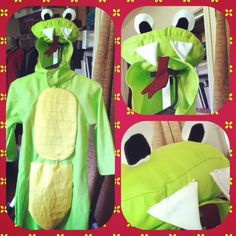 Imagine a little boy inside and voila! A snake costume... Can be yours for $58