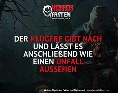 ❝Nicht erwischen lassen❞ #horrorfakten
