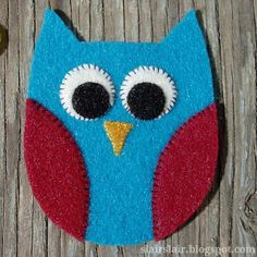 Slair's Lair: Felt Owl Pattern