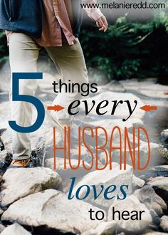 With the help of my very wise husband, this post shares 5 things that women can say to their husbands to bless, uplift, and encourage them. Our men need to hear positive things from us just as much as we need to hear good words from them. Why not look over the list and get some ideas today?