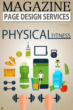 Design A Business Magazine - Physical Fitness Clubs