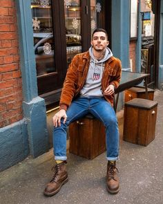 Dr Martens Outfit, Style Dr Martens, Dr Martens Stil, Dr Martens Homme, Style Casual, Men Casual, Men's Style, Men Style Tips, Retro Outfits