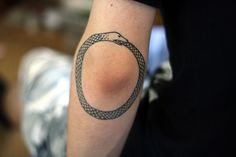 ouroboros: a representation of the continuous cycle of life and death