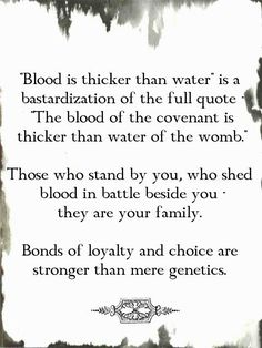 Bonds of loyalty and choice are stronger than mere genetics. The Words, Quotable Quotes, True Quotes, Favorite Quotes, Best Quotes, Water Quotes, Quotes About Water, Full Quote, Johann Wolfgang Von Goethe
